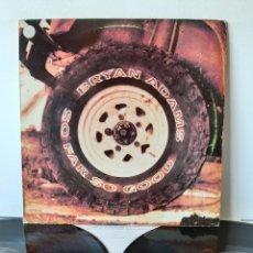 Discos de vinilo: MUY DIFICIL! BRYAN ADAMS. SO FAR SO GOOD. A&M. 1993. SPAIN. Lote 267552094