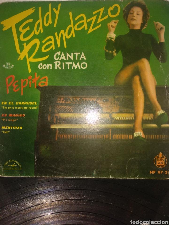 TEDDY RANDAZZO ** PEPITA * EN EL CARROUSEL * ES MAGICO * MENTIRAS ** (Música - Discos de Vinilo - EPs - Rock & Roll)