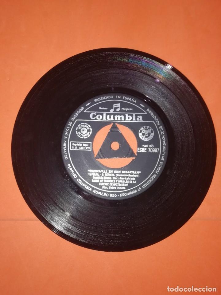Discos de vinilo: EL CARNAVAL EN SAN SEBASTIAN. COLUMBIA RECORDS. 1967. MUY BUEN ESTADO - Foto 4 - 267563074
