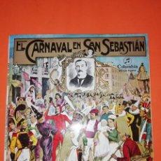 Discos de vinilo: EL CARNAVAL EN SAN SEBASTIAN. COLUMBIA RECORDS. 1967. MUY BUEN ESTADO. Lote 267563074