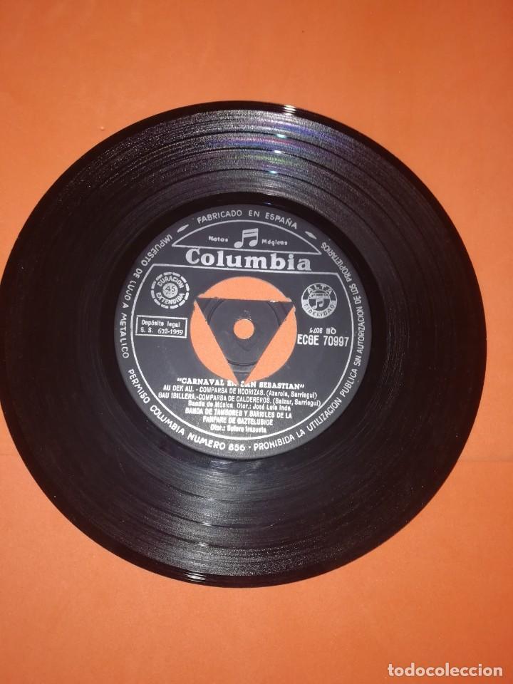 Discos de vinilo: EL CARNAVAL EN SAN SEBASTIAN. COLUMBIA RECORDS. 1967. MUY BUEN ESTADO - Foto 3 - 267563074
