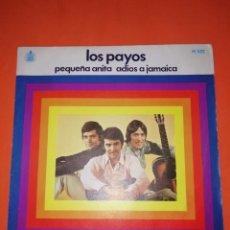 Discos de vinilo: LOS PAYOS. PEQUEÑA ANITA. HISPAVOX 1969. MUY BUEN ESTADO. Lote 267563919