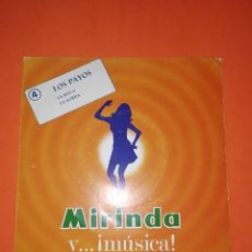 Discos de vinilo: LOS PAYOS. LA SUECA. LA GORDA. DISCOS MIRINDA. 1969. MUY BUEN ESTADO. Lote 267565199
