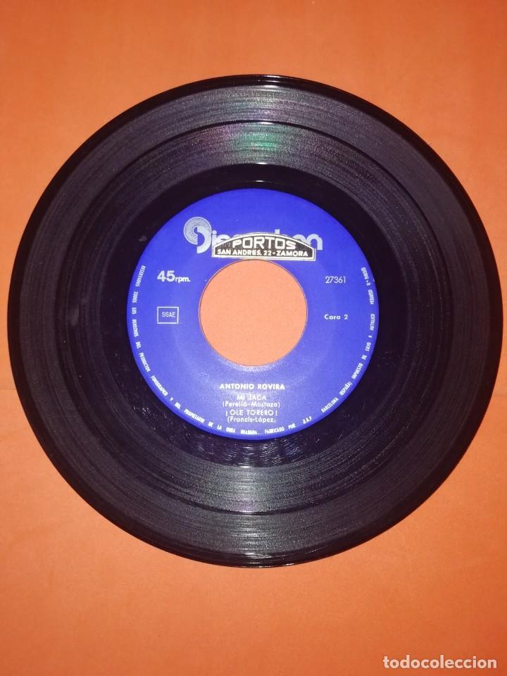 Discos de vinilo: ANTONIO ROVIRA. EL RELICARIO. DISCOPHON . VOL. 7. 1964. BUEN ESTADO - Foto 4 - 267566289