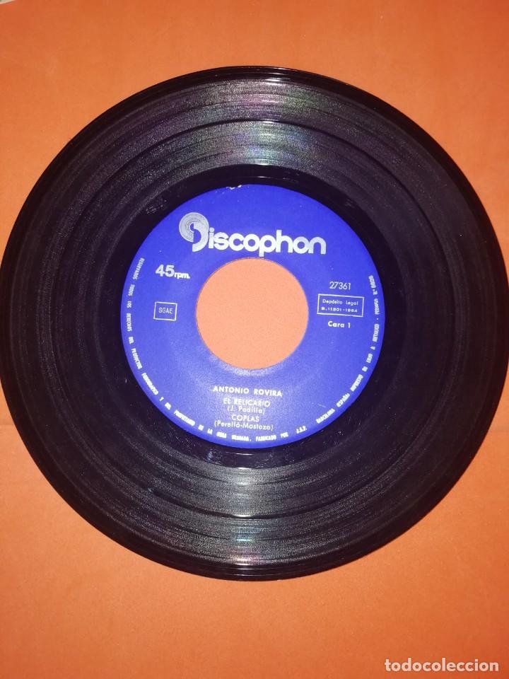 Discos de vinilo: ANTONIO ROVIRA. EL RELICARIO. DISCOPHON . VOL. 7. 1964. BUEN ESTADO - Foto 3 - 267566289