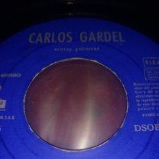 Discos de vinilo: CARLOS GARDEL** YIRA YIRA * CHORRA * ADIÓS MUCHACHOS * A LA LUZ DE UN CANDIL **. Lote 267566349