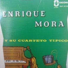 Discos de vinilo: ** ENRIQUE MORA Y SU CUARTETO TIPICO **. Lote 267585554