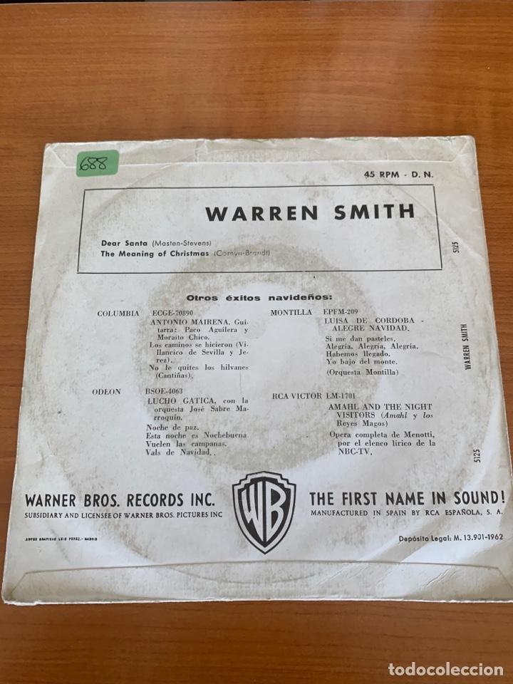 Discos de vinilo: Warren Smith - Dear Santa - Foto 2 - 267587899