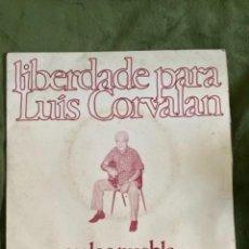 Discos de vinilo: ANTIGUO EP CARLOS PUEBLA LIBERTADE PARA LUIS CORVALAN. Lote 267613414