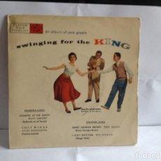 Discos de vinilo: DINAH WASHINGTON, TEDDY WILSON, RED NORVO - BAILANDO CON LOS GRANDES DEL JAZZ EP SPANISH 1950'S. M-M. Lote 267617019
