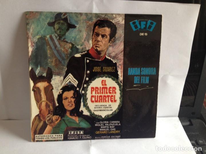 B.S.O. EL PRIMER CUARTEL - IGNACIO F. IQUINO EP SPANISH 1966. NM-M VINILO NUEVO A ESTRENAR (Música - Discos de Vinilo - EPs - Bandas Sonoras y Actores)