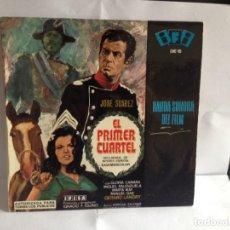 Discos de vinilo: B.S.O. EL PRIMER CUARTEL - IGNACIO F. IQUINO EP SPANISH 1966. NM-M VINILO NUEVO A ESTRENAR. Lote 267618289