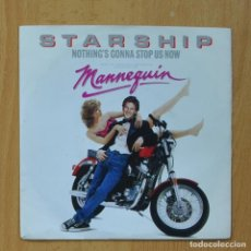 Disques de vinyle: STARSHIP - NOTHING`S GONNA STOP US NOW - SINGLE. Lote 267618999