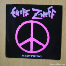 Disques de vinyle: ENUFF Z NUFF - NEW THING - SINGLE. Lote 267620399