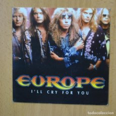 Disques de vinyle: EUROPE - I´LL CRY FOR YOU - PROMO - SINGLE. Lote 267620594