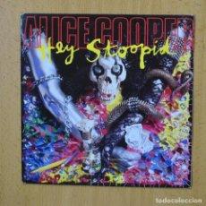 Disques de vinyle: ALICE COOPER - HEY STOOPID - SINGLE. Lote 267620789