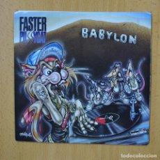 Disques de vinyle: FASTER PUSSYCAT - BABYLON - SINGLE. Lote 267620799