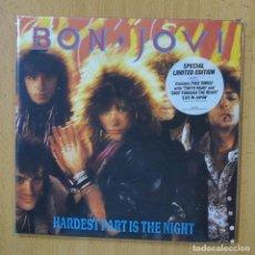 Disques de vinyle: BON JOVI - HARDEST PART IS THE NIGHT - SINGLE. Lote 267621099