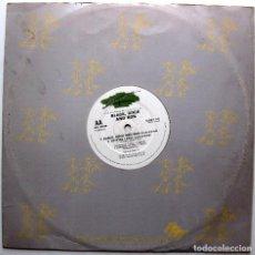 Discos de vinilo: BLACK, ROCK AND RON - BLACK, ROCK AND RON - MAXI SUPREME RECORDS 1989 UK BPY. Lote 267639929
