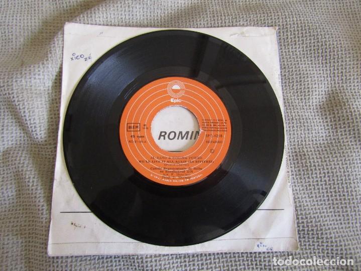 """Discos de vinilo: Al Bano & Romina Power - We´ll Live it All Again - Single 7"""" Eurovisión 76 Editado En Portugal - Foto 3 - 267639939"""