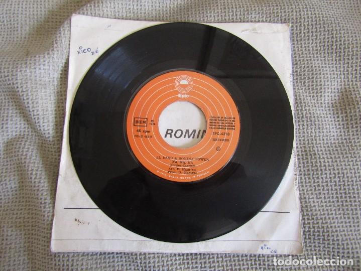 """Discos de vinilo: Al Bano & Romina Power - We´ll Live it All Again - Single 7"""" Eurovisión 76 Editado En Portugal - Foto 5 - 267639939"""