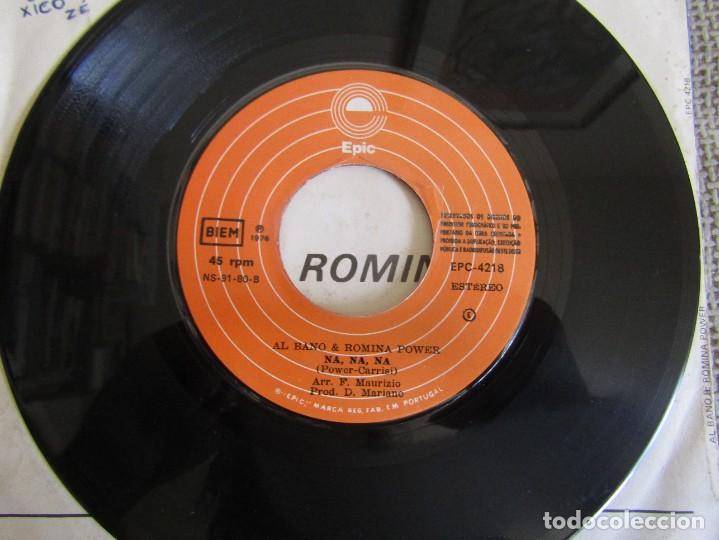 """Discos de vinilo: Al Bano & Romina Power - We´ll Live it All Again - Single 7"""" Eurovisión 76 Editado En Portugal - Foto 6 - 267639939"""