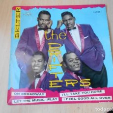 Dischi in vinile: DRIFTERS, THE, EP, ON BROADWAY + 3, AÑO 1963. Lote 267651879