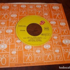 Discos de vinilo: DEL LP SOME GIRLS, ROLLING STONES. MISS YOU / FARAWAY EYES. CBS 10C006-061.201, 1.978. Lote 267654159