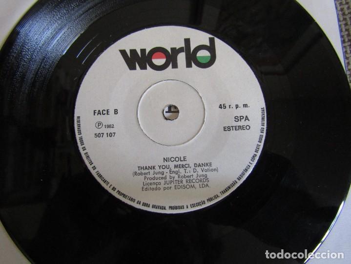 "Discos de vinilo: Nicole - A Little Peace - Single 7"" Eurovisión 82 Editado En Portugal - Foto 6 - 267655594"