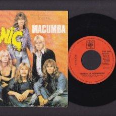 Discos de vinilo: TITANIC - MACUMBA.... - CBS 2000 - 2 CANCIONES 1974. Lote 267661044
