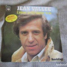 "Discos de vinilo: JEAN VALLÉE - L´AMOUR ÇA FAIT CHANTER LA VIE - SINGLE 7"" EUROVISIÓN 78 EDITADO EN PORTUGAL. Lote 267662649"