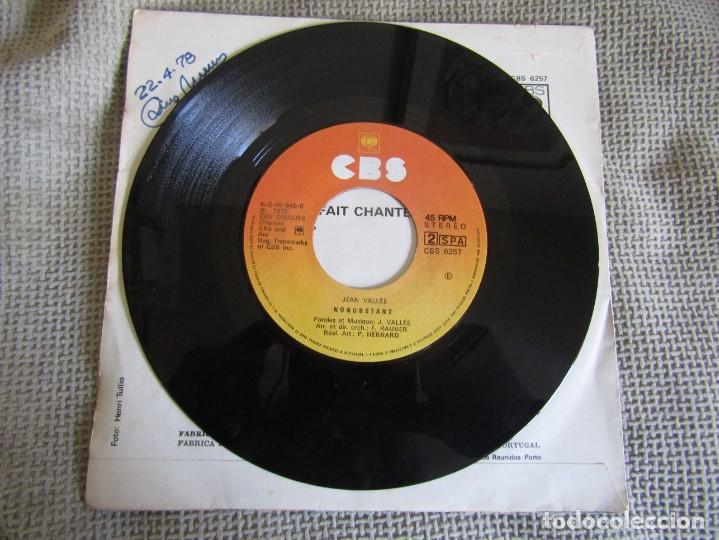 "Discos de vinilo: Jean Vallée - L´Amour ça Fait Chanter la Vie - Single 7"" Eurovisión 78 Editado En Portugal - Foto 5 - 267662649"