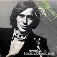 Discos de vinilo: SERRAT – CONILLET DE VELLUT / 20 DE MARÇ - SINGLE SPAIN 1970. Lote 267666189