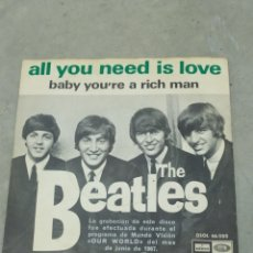 Discos de vinilo: THE BEATLES - ALL YOU NEED IS LOVE - ODEON 1967 EP ESPAÑOL. Lote 267672079