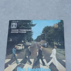 Discos de vinilo: THE BEATLES - COME TOGETHER, SOMETHING - ODEON 1969 EP ESPAÑOL. Lote 267672634