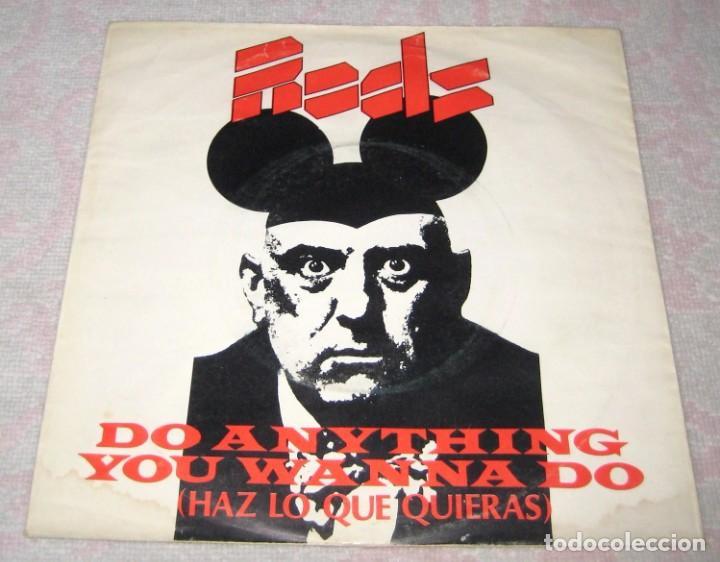 EDDIE AND THE HOT RODS - HAZ LO QUE QUIERAS - ISLAND 1977 - SPAIN (Música - Discos - Singles Vinilo - Punk - Hard Core)