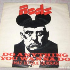 Disques de vinyle: EDDIE AND THE HOT RODS - HAZ LO QUE QUIERAS - ISLAND 1977 - SPAIN. Lote 267673439