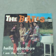 Discos de vinilo: THE BEATLES - HELLO, GOODBYE, I AM THE WARLUS - ODEON 1967 EP ESPAÑOL. Lote 267674024