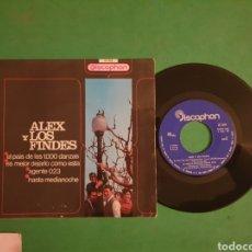 Disques de vinyle: SINGLE. E.P. ALEX Y LOS FINDES. DISCOPHON - 1967. Lote 267674539