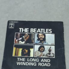 Discos de vinilo: THE BEATLES - THE LONG AND WINDING ROAD, FOR YOU BLUE - ODEON 1970 EP ESPAÑOL. Lote 267674554