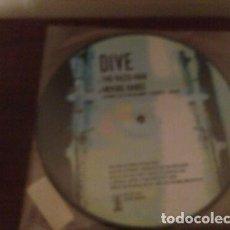 Discos de vinilo: DIVE - KLINIK - TWO FACED MAN - SINGLE ALEMANIA 99 ELECTRO INDUSTRIAL SYNTH PICTURE DISC. Lote 267682389
