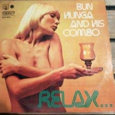 Disques de vinyle: BUN HUNGA AND HIS COMBO - 1973 - LP. Lote 267689354