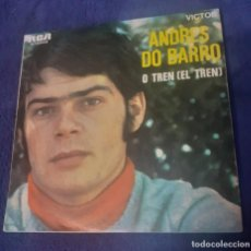 Discos de vinilo: SINGLE DE ANDRES DO BARRO O TREN,. Lote 267692754