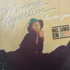 Discos de vinilo: MINNIE RIPERTON ** LOVIN' YOU * THE EDGE OF A DREAM **. Lote 267706209