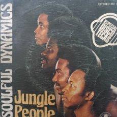 Discos de vinilo: SOULFUL DYNAMICS ** JUNGLE PEOPLE * SUGAR BABY **. Lote 267706789