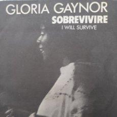 Discos de vinilo: GLORIA GAYNOR ** I WILL SURVIVE * SUBSTITUTE **. Lote 267709034
