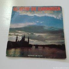 Discos de vinilo: EL SITIO DE ZARAGOZA - BANDA DE LA POLICIA ARMADA. Lote 267711744