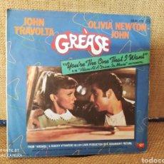Discos de vinilo: SINGLE GREASE. JOHN TRAVOLTA Y OLIVIA NEWTON JOHN. Lote 267715524