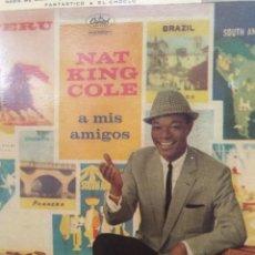 Discos de vinilo: NAT KING COLE ** NIMGUEM ME AMA * ÑAO TENHO LÁGRIMAS * FANTÁSTICO * EL CHOCLO **. Lote 267718309