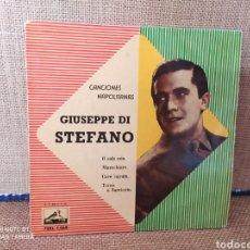 Discos de vinilo: SINGLE GIUSEPPE DI STEFANO. CANCIONES NAPOLITANAS.. Lote 267718359